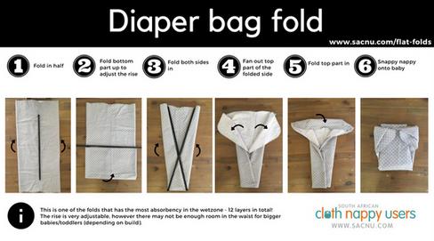 Diaper Bag Fold