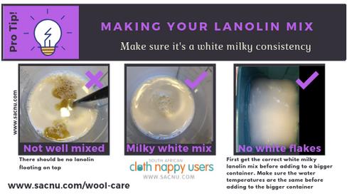 Making Lanolin