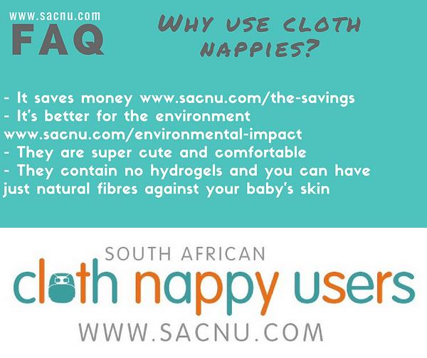 Why use cloth nappies? SACNU