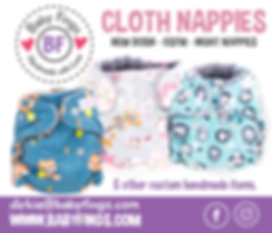 Baby Fings cloth Nappies