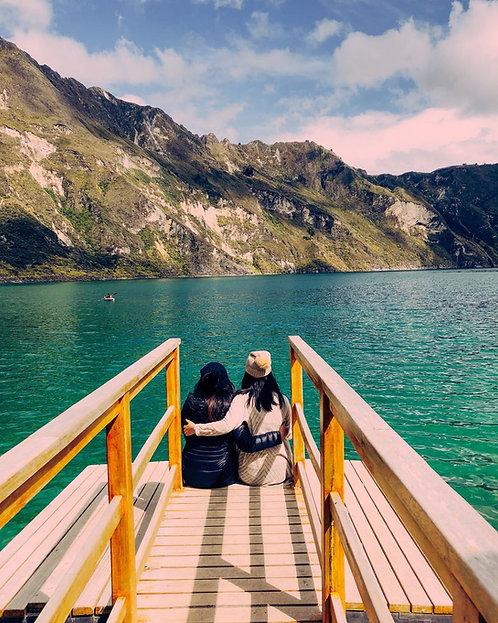 Full Day Laguna de Quilotoa - Mirador Shalalá