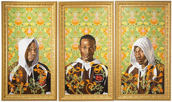 Kehinde Wiley – Triple Portrait of Charles I