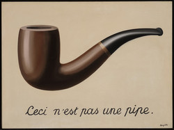 René Magritte - The Treachery of Images (This is Not a Pipe)