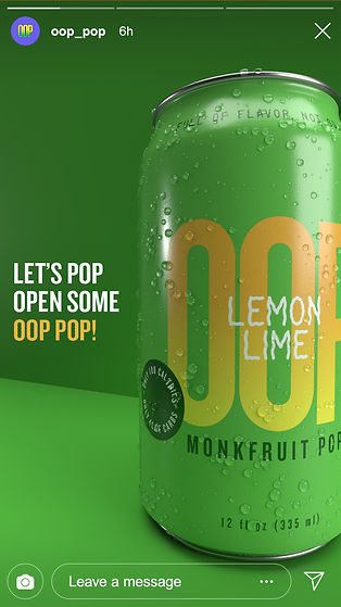 Lemon Lime Instagram Story