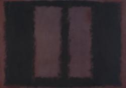Mark Rothko - Black on Maroon