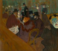 Henri de Toulouse-Lautrec - At the Moulin Rouge