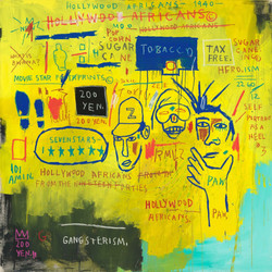 Jean-Michel Basquiat - Hollywood African