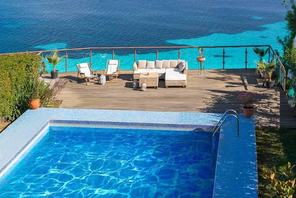 Greek Retreat Villa Swimming Pool