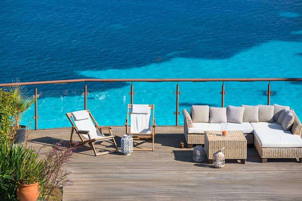 Greek Retreat Villa 2 View