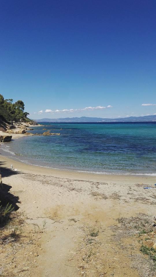 private beach Greece