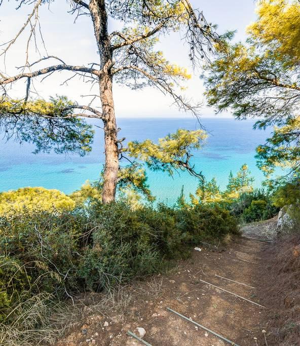Greek Retreat Villa 2 steps