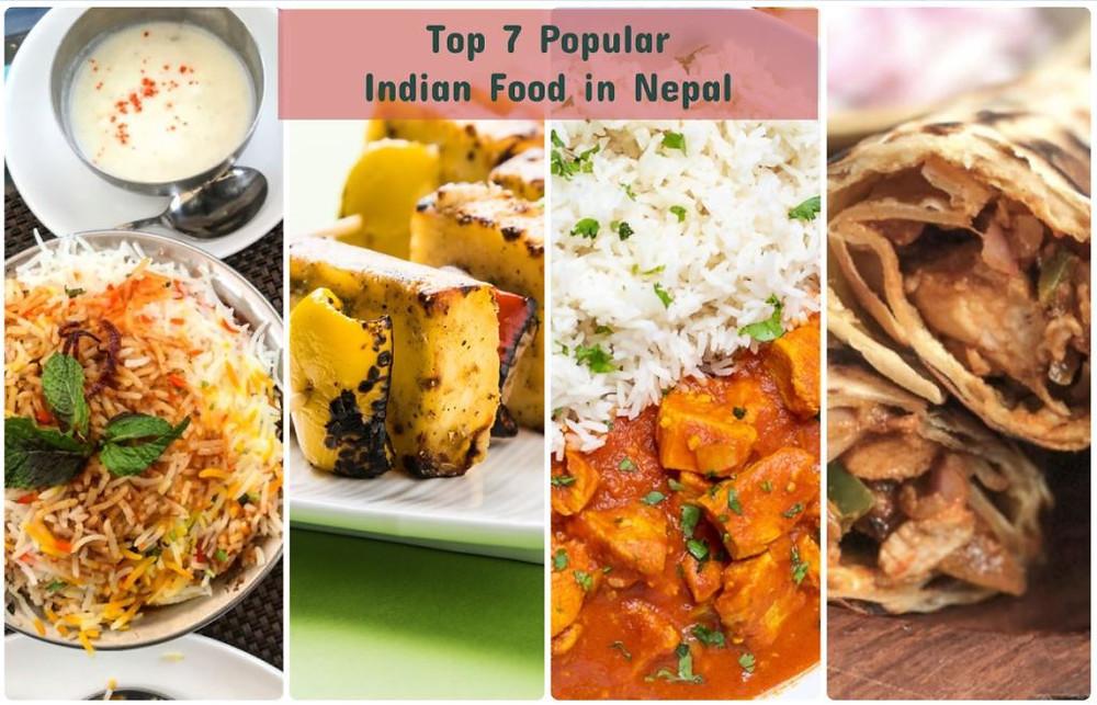 Popular Indian Food in Nepal