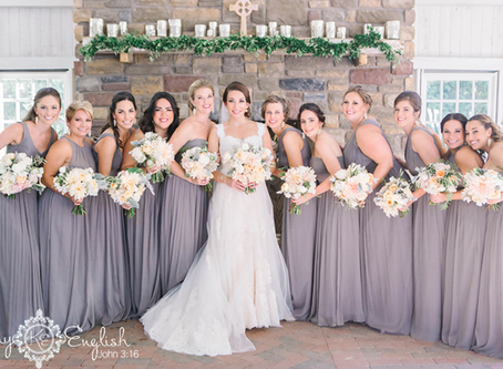 Lush Bridal Featured on Style Me Pretty Weddings!