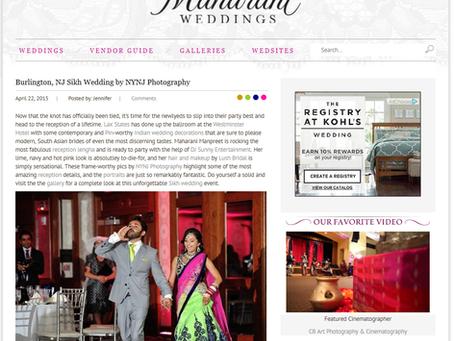 Lush Bride Featured on Maharani Weddings!