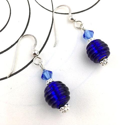 Sugar Candy Classic Blue Earrings