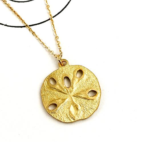 Petite Sand Dollar Pendant Necklace