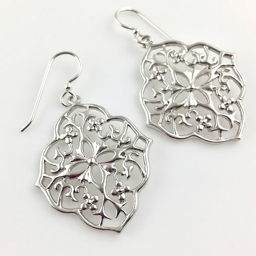 Silver Raj Earrings