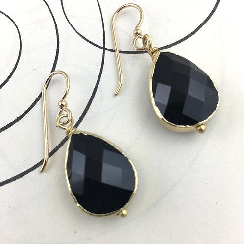 Fashionista Earrings - Black