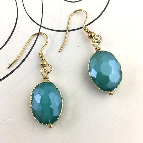 Fashionista Earrings - Aqua
