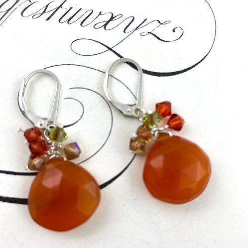 Autumn Cluster Earrings