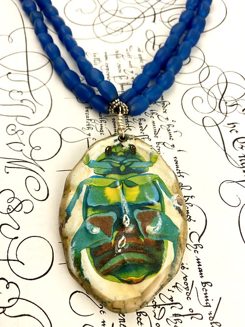 Insect Statement Necklace