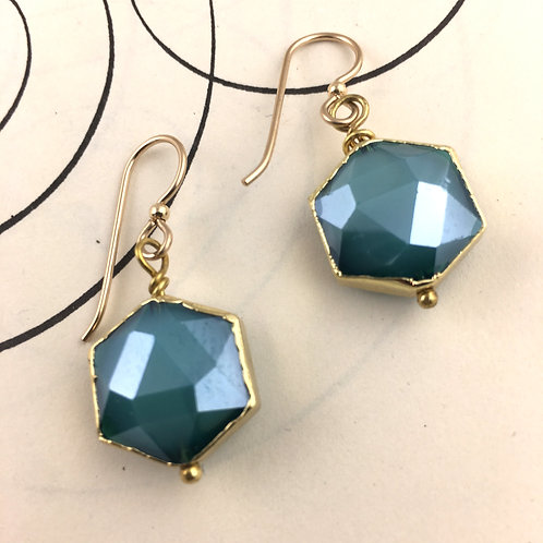 Fashionista Earrings - Turquoise