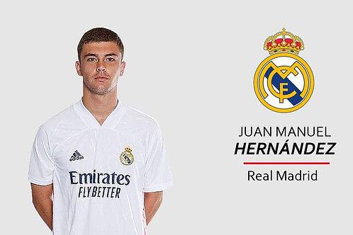 Juan Manuel Hernandez - Real Madrid