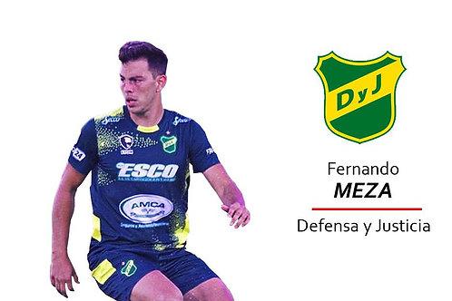 Fernando Meza - Defensa y Justicia