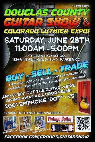 2014 Douglas County Guitar Show Colorado Luthier Expo Lutheran High School Parker