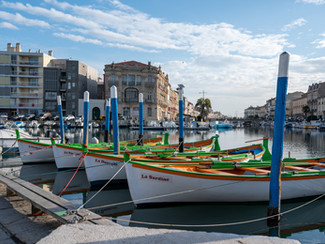 Canaux à Sète