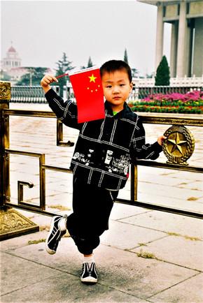 Heureux le petit Chinois