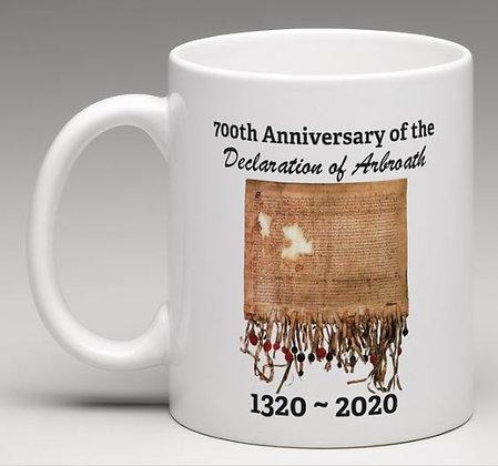 Declaration of Arbroath 700th Anniversary Mugs