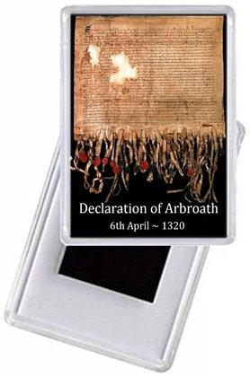Fridge Magnet - The Declaration of Arbroath