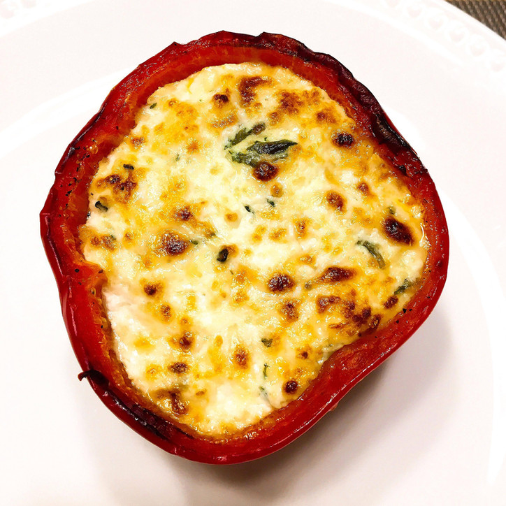 'Lasagna' Stuffed Peppers