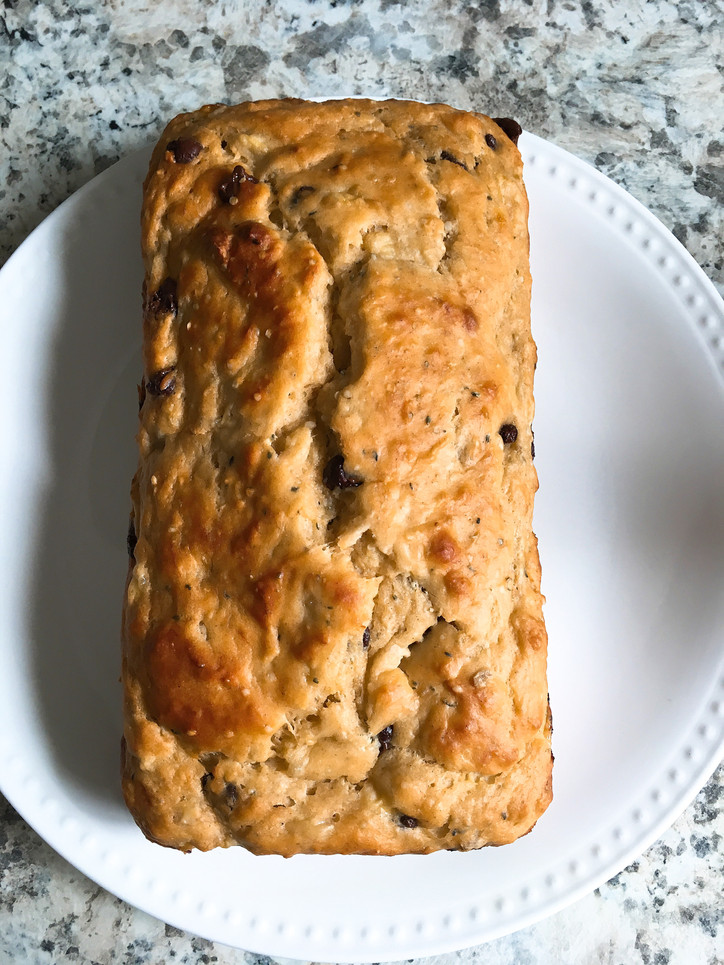 Deliciously healthy banana bread
