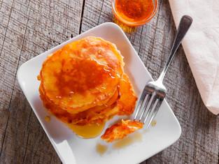 Carrot Pancakes for Easter