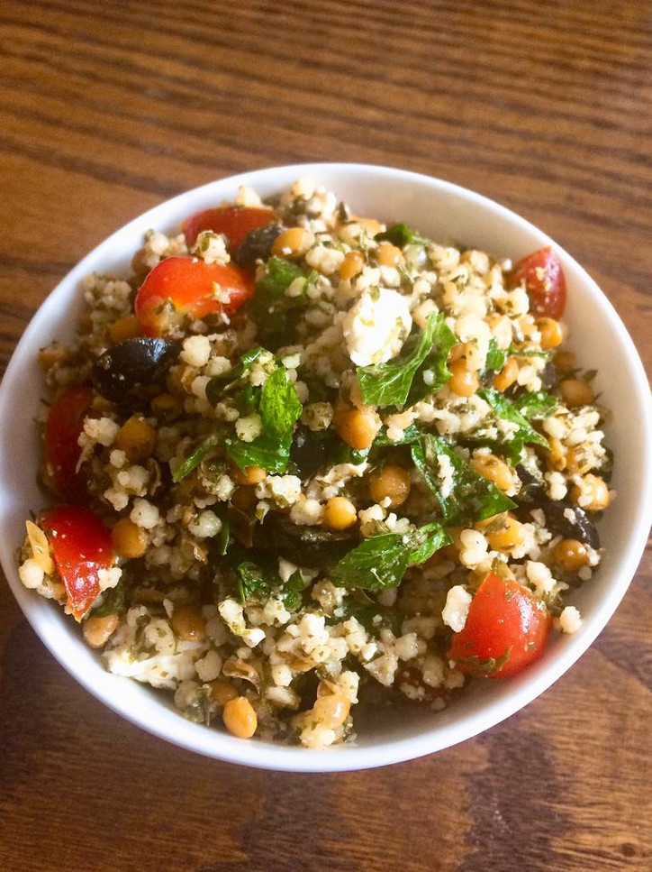 Greek Inspired Tabbouleh Salad