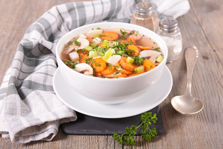5 Health Benefits of Soup