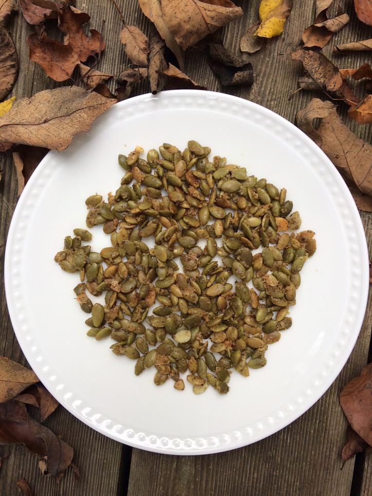 Roasted Pumpkin Seed Snack