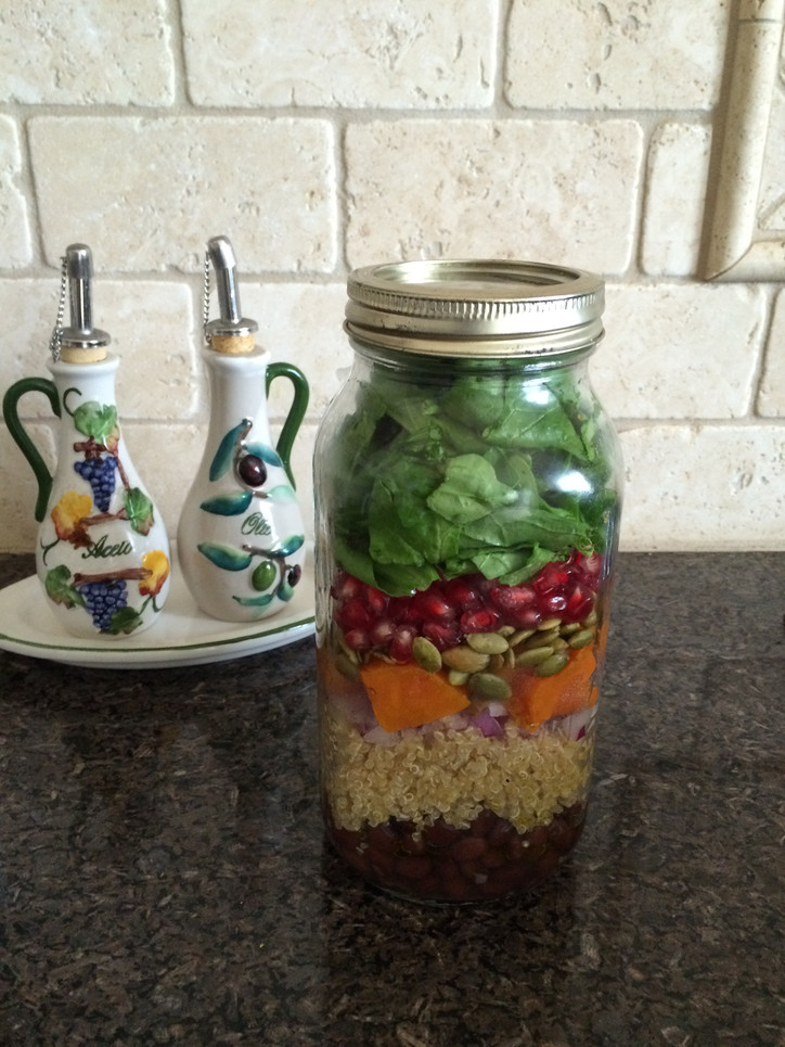 Salad in a jar please!