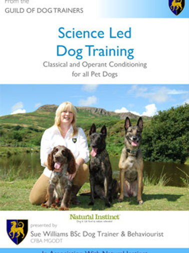 DVD- Science Led Dog Training by Sue Williams
