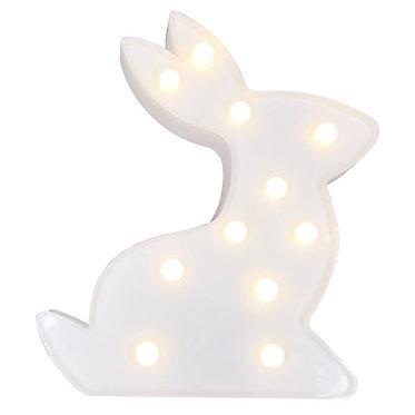 Lampara led conejo luz cálida
