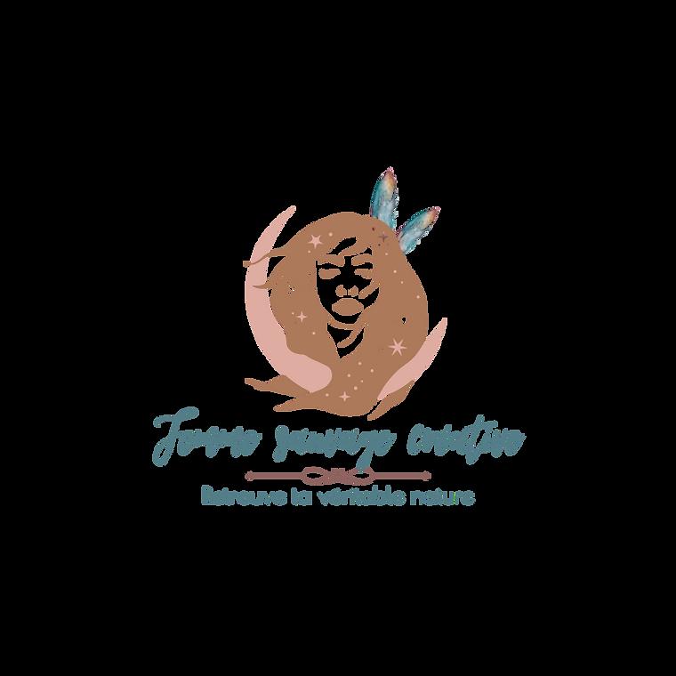 Logo Femme sauvage créative sans fond ré