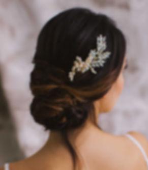 Swarovski ELements crystals headpiece comb for brides