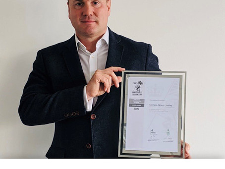 Comera Group Achieves Employer Recognition Scheme Silver Award