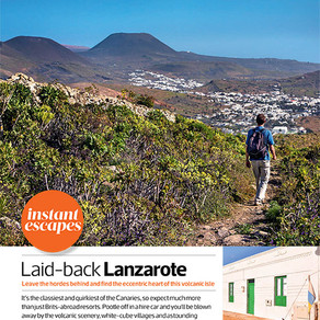 As Featured in Sunday Times Travel Magazine!
