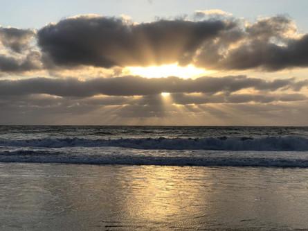 Sunrise @ Arrieta beach