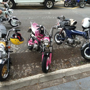 Sunday bikers