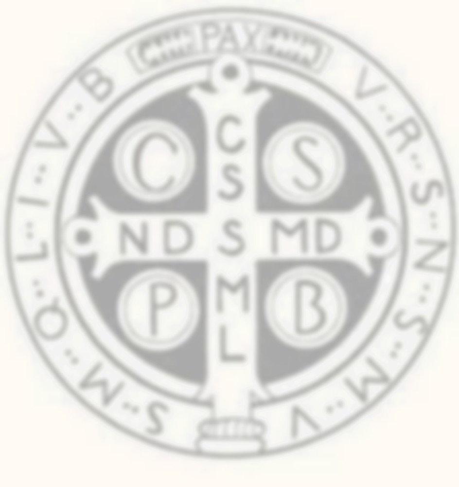 Benedictine medal st benedict