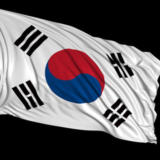 Photo of the South Korean Flag